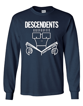 Polera m/l Descendents · Everything Sucks