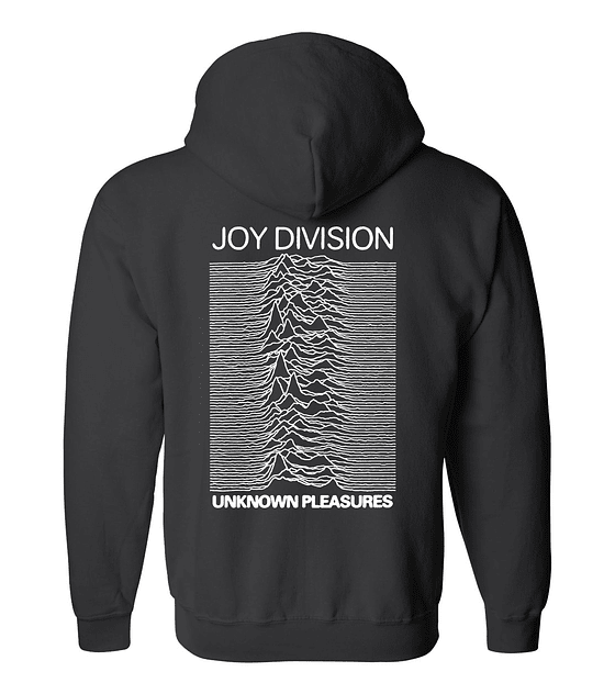 Polerón Con Cierre · Joy Division Unknown Pleasures