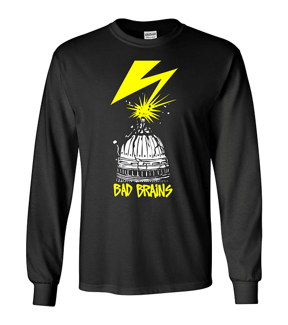 Polera m/l Bad Brains · ROIR Sessions