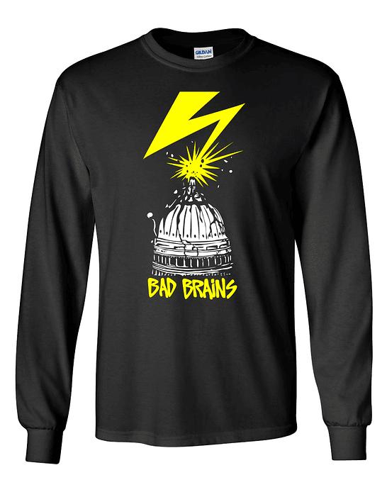 Polera m/l Bad Brains · ROIR Sessions