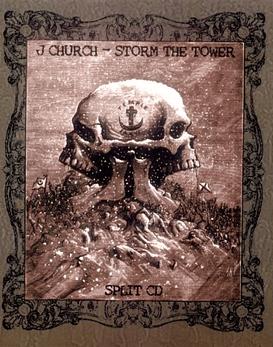J Church & Storm The Tower Split vinilo 12''