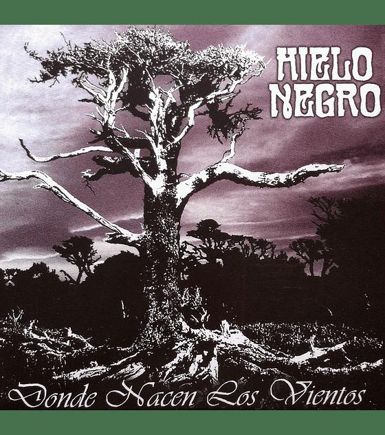 Hielo Negro · Donde Nacen Los Vientos vinilo 12''