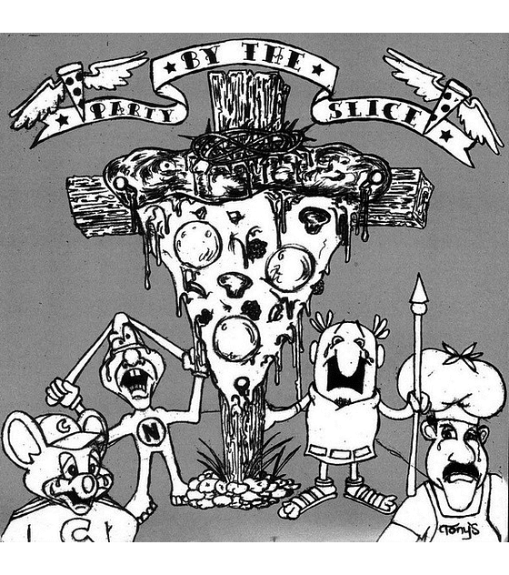 Party By The Slice & ¡Malparido! split vinilo 7''