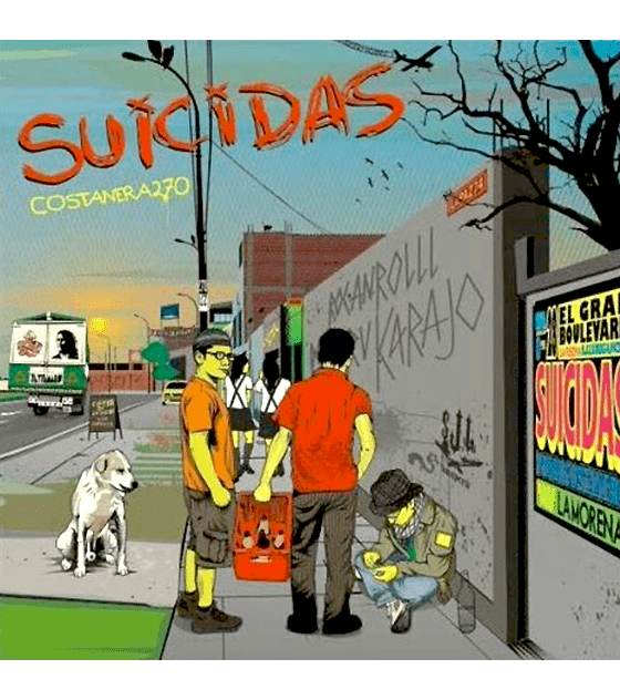 Suicidas · Costanera 270 CD Digipack