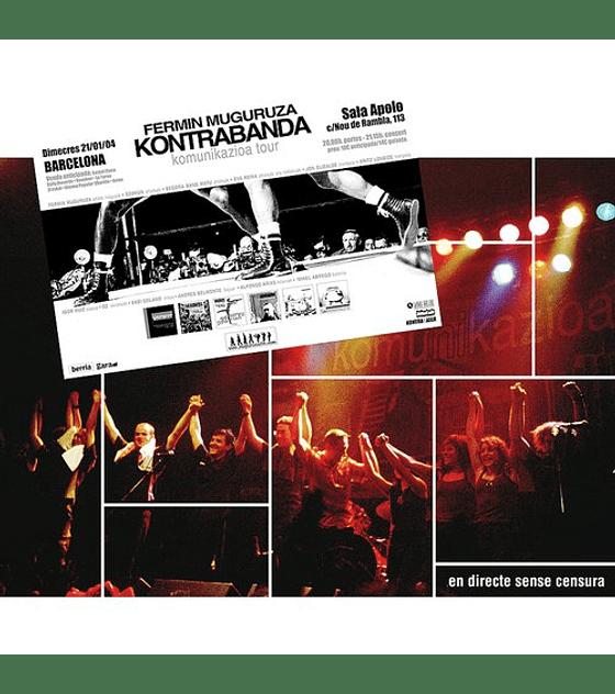 Fermín Muguruza · Kontrabanda CD