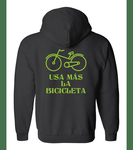 Polerón Con Cierre · Usa Más La Bicicleta
