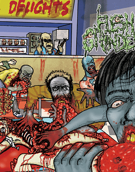 Flesh Grinder · Crumb's Crunchy Delights Organization Cd