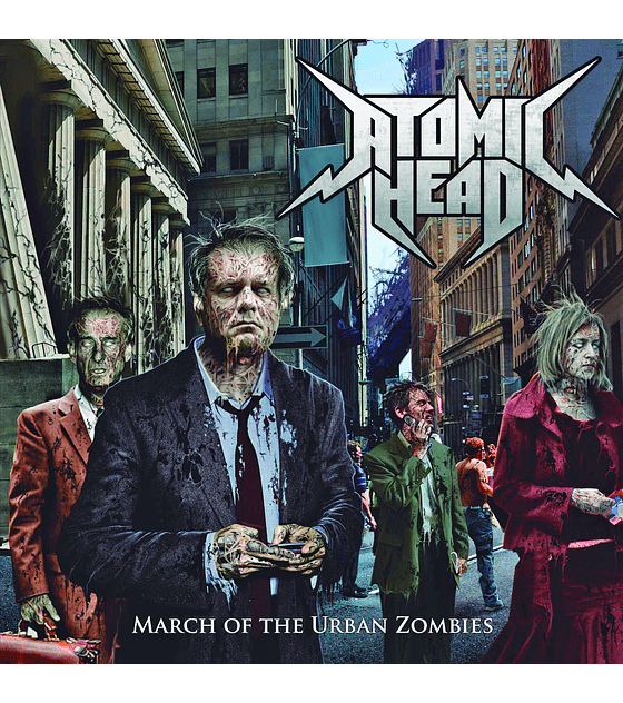 Atomic Head · March Of The Urban Zombies Cd