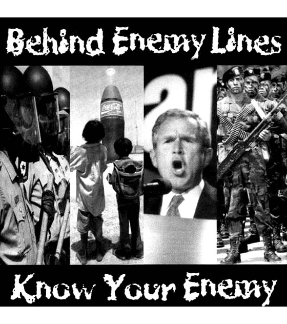 Behind Enemy Lines · Know Your Enemy Cd