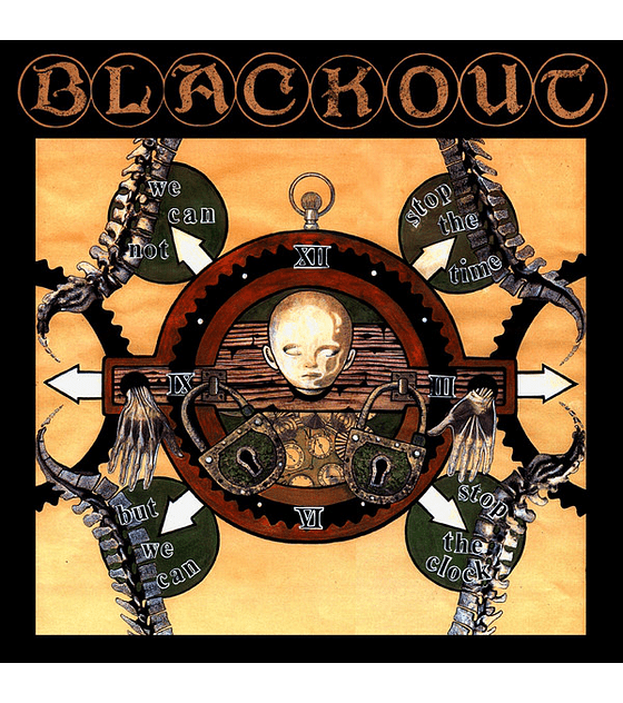 Blackout · Stop The Clock Cd