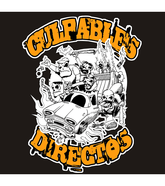 Culpables Directos · S/t Cd