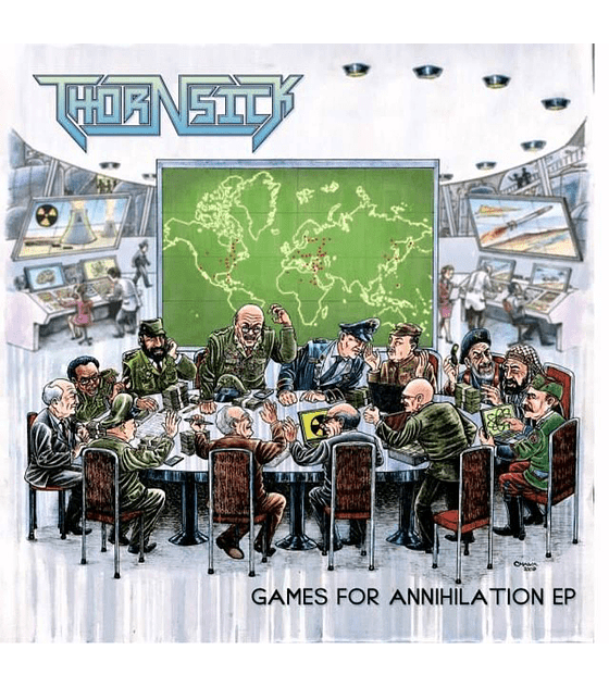 Thornsick · Games For Annihilation Cd