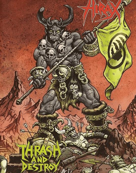Hirax · Thrash And Destroy DVD+CD