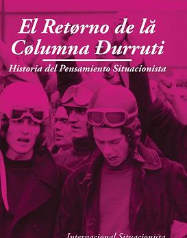 Libro El Retorno De La Columna Durruti: Historia Del Pensamiento...