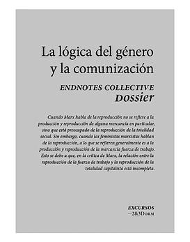 Libro · La Lógica Del Género y La Comunización