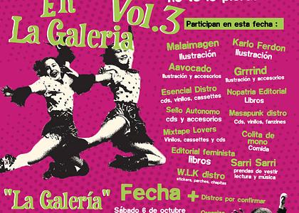 3era Feria de distros independientes en la galería