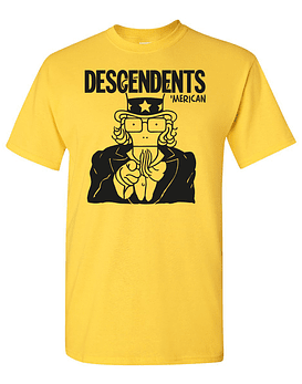 Polera Descendents · 'Merican