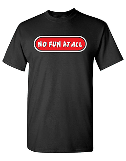 Polera M/C No Fun At All · Logo