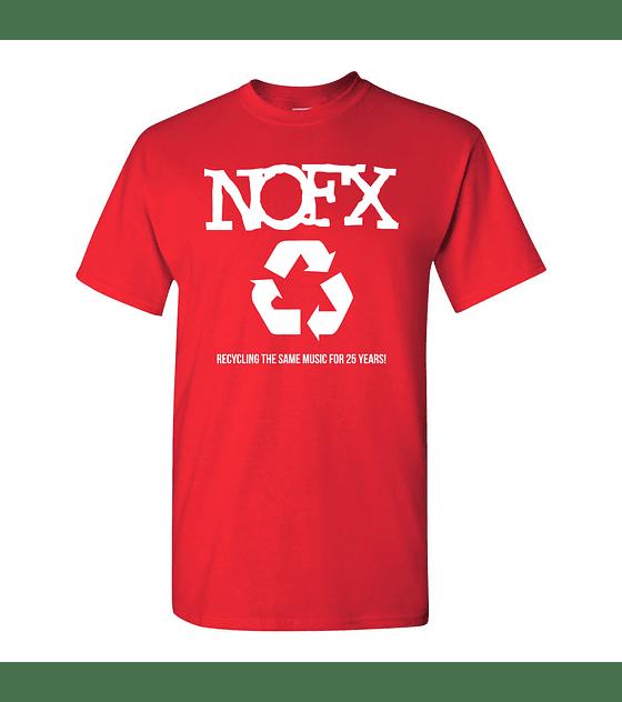 Polera M/C Nofx · Recycling