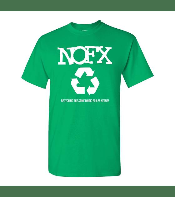 Polera Nofx Recycle