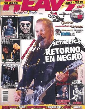 Revista La Heavy - 30 Años (1982-2012) Nº342