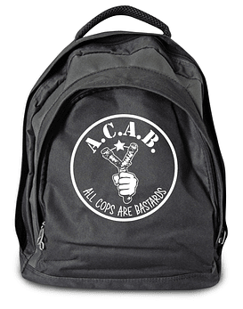 Mochila A.C.A.B. all cops are bastards