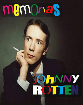 Libro Memorias De Johnny Rotten (Edición Alternativa)