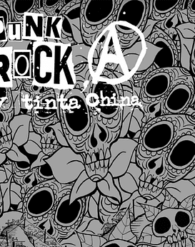 Libro Punk Rock y Tinta China (edición alternativa)