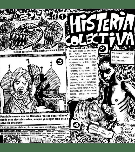 Libro Punk Rock y Tinta China (edición alternativa)