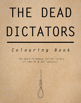 Fanzine The Dead Dictators · Colouring Book