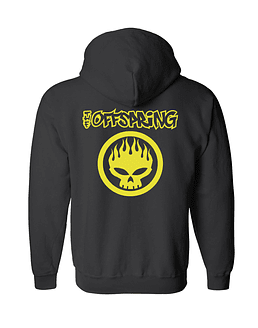 Polerón Con Cierre · The Offspring Skull
