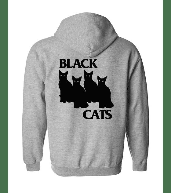 Polerón Con Cierre · Black Cats