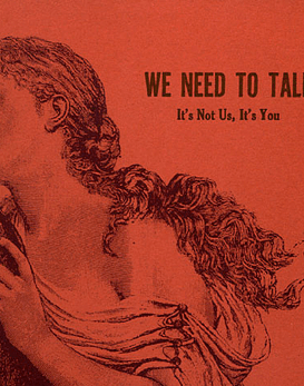 We Need To Walk · It's Not Us, It's You 7''