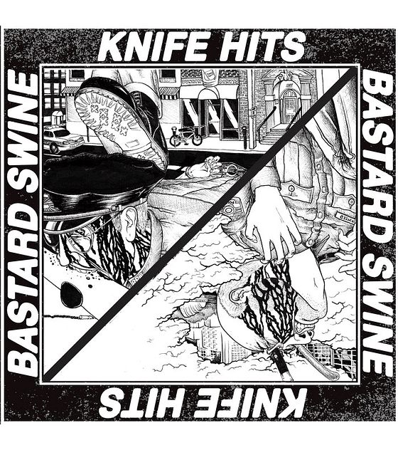 Knife Hits - Bastard Swine Split 7