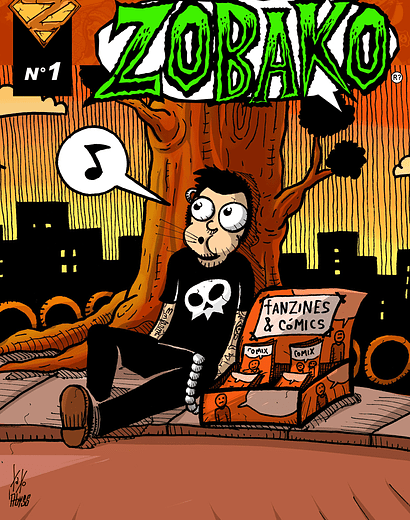 Revista Comics Zobako Nº1