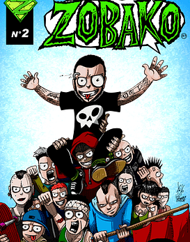 Revista Comics Zobako Nº2