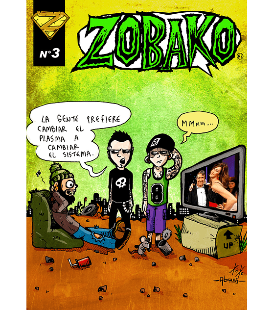 Revista Comics Zobako Nº3