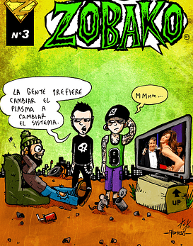 Revista Comics Zobako Nº3