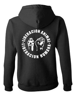 Polerón Mujer · Liberación Animal, Liberación Humana