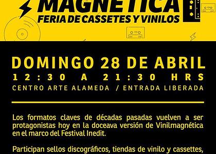 12ª Feria Vinilmagnética en Centro Arte Alameda
