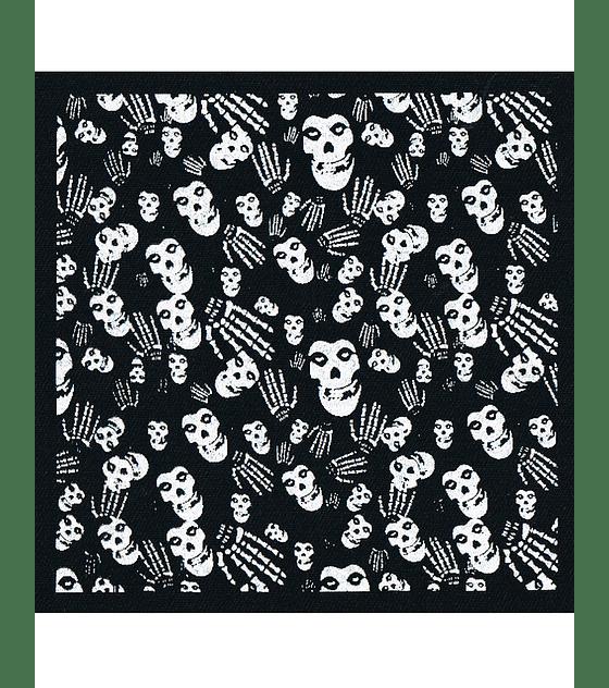 Parche Serigrafia · Misfits Skulls