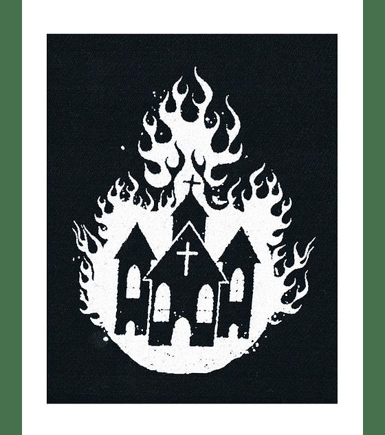 Parche Serigrafia · Iglesia Arde