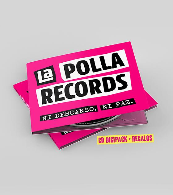 La Polla Records · Ni Descanso, Ni Paz! Cd Digipack (+Regalos)