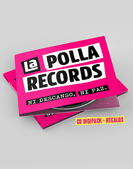 La Polla Records · Ni Descanso, Ni Paz! Cd Digipack (+Regalos)