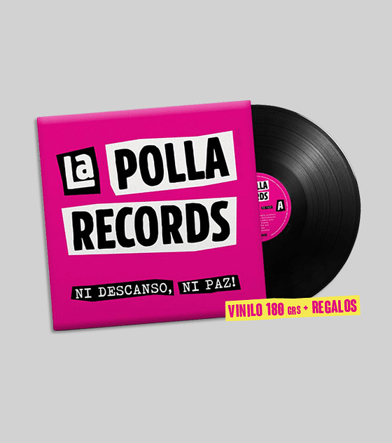 La Polla Records · Ni Descanso, Ni Paz! Lp 12'' (+Regalos)