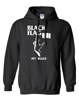 Polerón Canguro · Black Flag - My Rules
