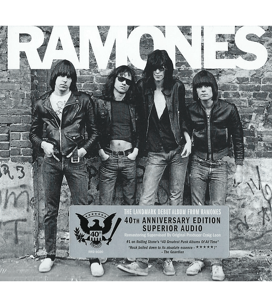 The Ramones - 40th Anniversary Edition Cd
