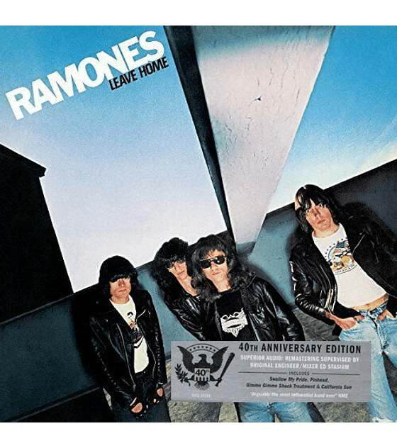 The Ramones - Leave Home- 40th Anniversary Edition Cd