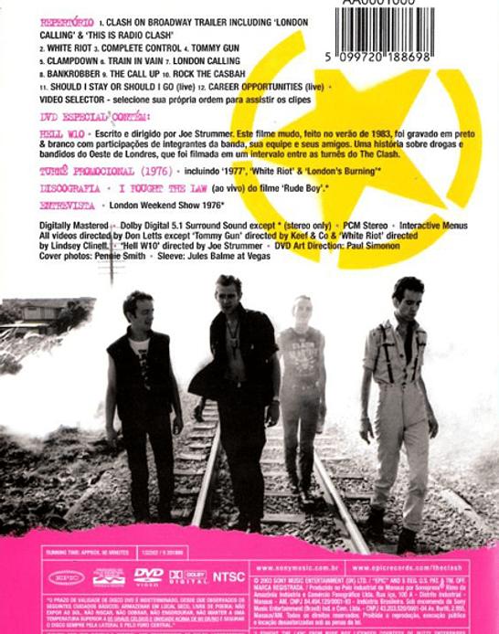 The Clash · The Essential Clash Dvd