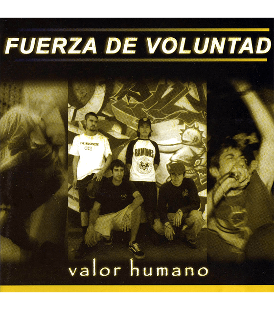 Fuerza de voluntad · Valor Humano CD